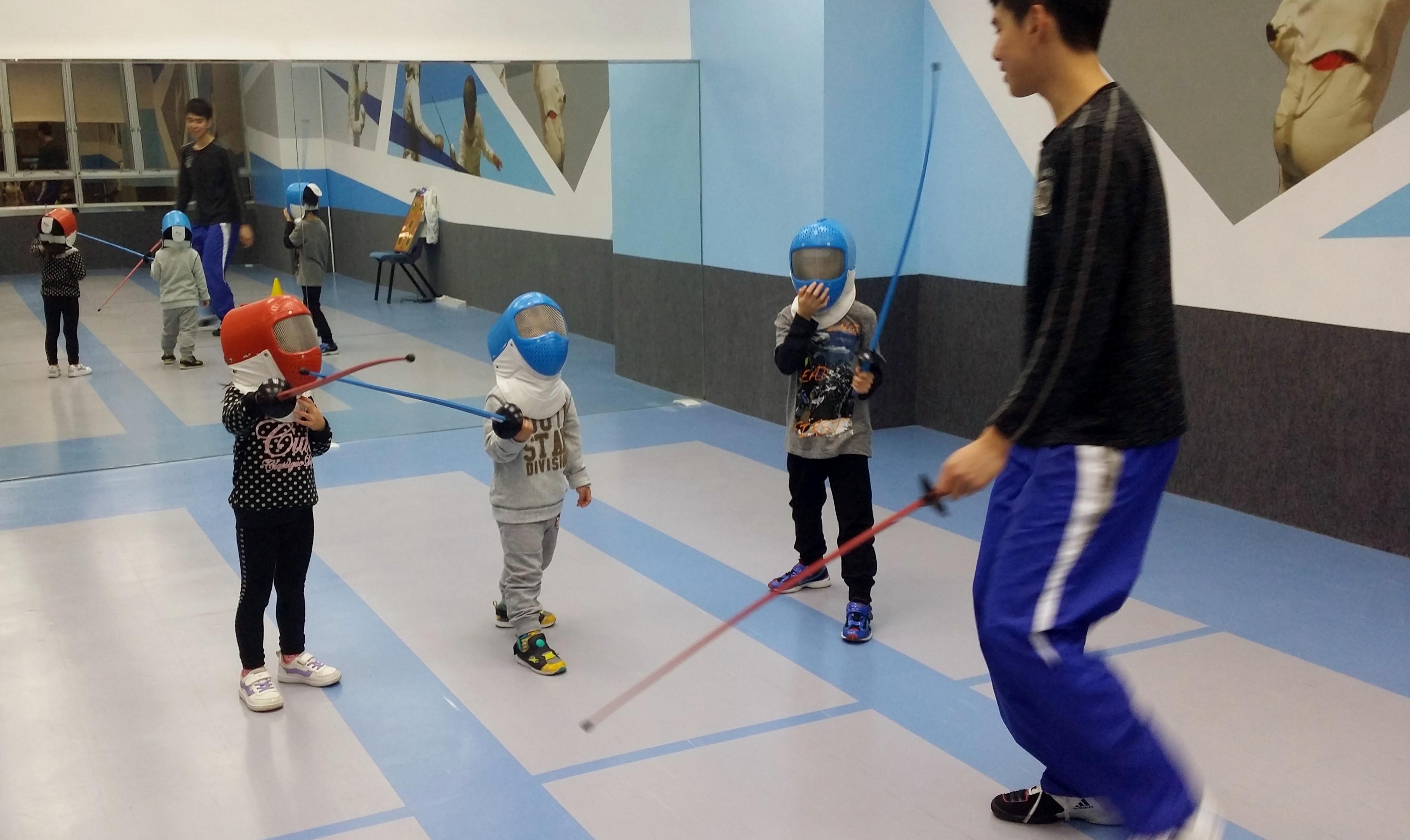 Children Fencing Class